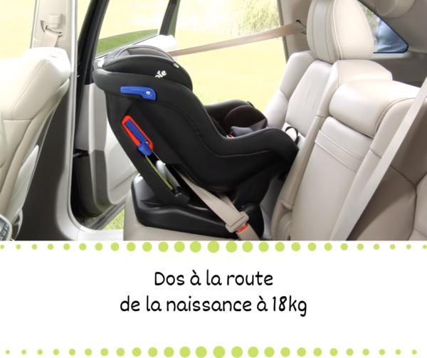 Louer un siège auto reward facing jusque 4 ans à la Réunion