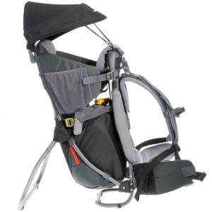 Rental Baby pack carrier for hikes in Reunion Island