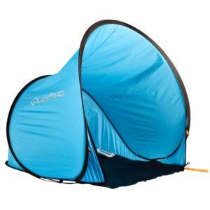 Lors de votre séjour sur l'ile de la réunion, pensez à louer une tente pour protéger votre enfant des rayons du soleil.