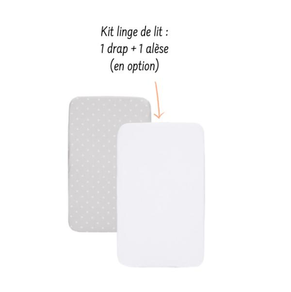 Louer le kit de linge pour lit cododo Next2me