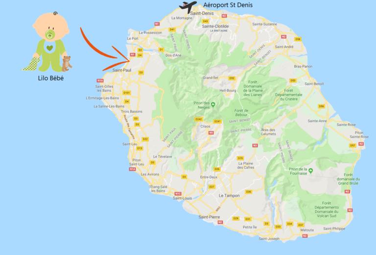 Lilo Bébé a saint paul ile de la Réunion