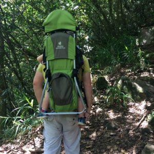 Louer un porte bébé physiologie ou de randonnée sur l'ile de la Réunion