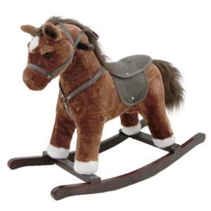 Louer des jouets pour bébé : un cheval à bascule