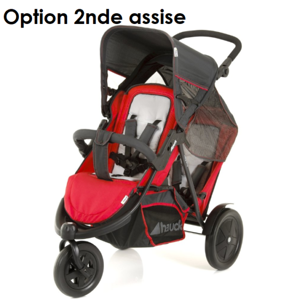 Rent on lilobebe a stroller with doubel sitting on the island of Reunion