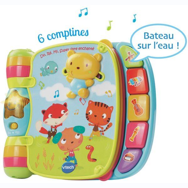 location livre pour bébé avec musique