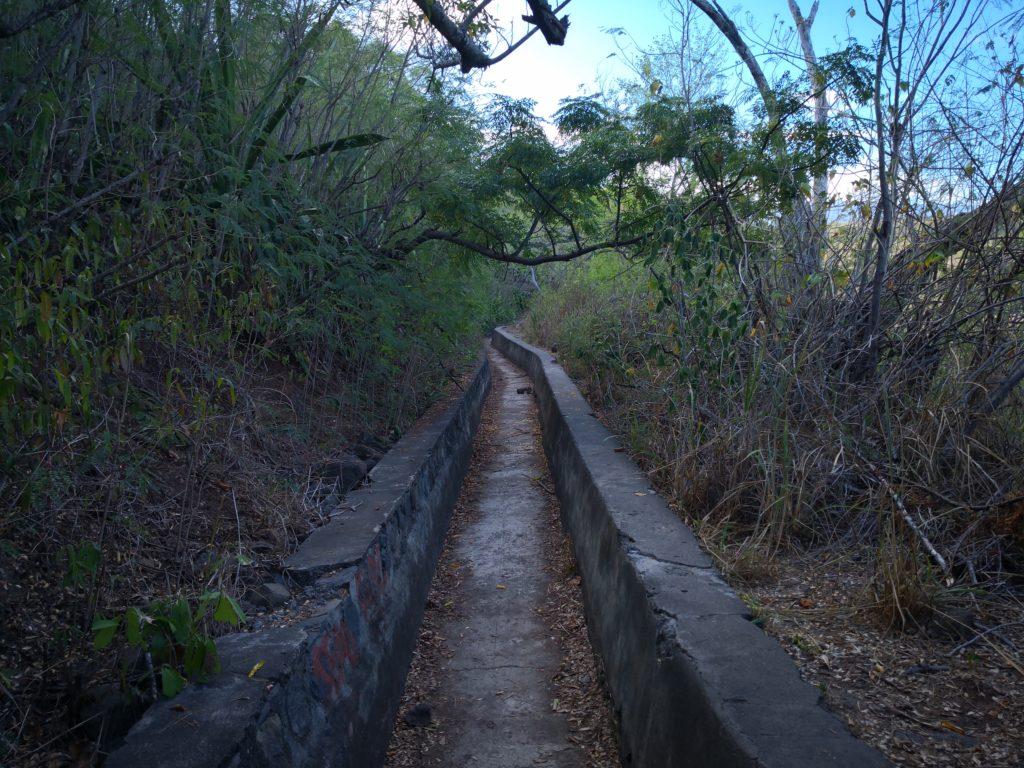 canal à sec bassin malheur