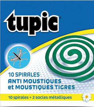 Spirale anti moustique TUPIC