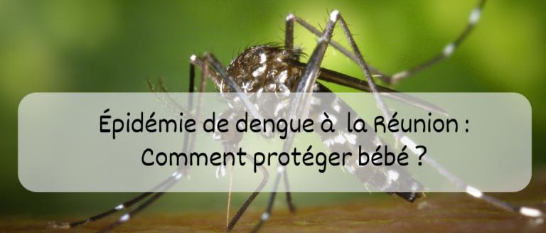 dengue a la Réunion avec bébé