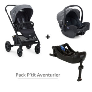 Rent a stroller and a car seat in Reunion Island