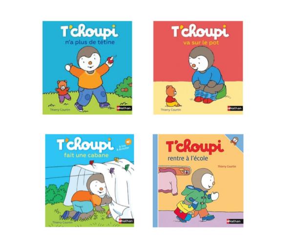 Location 4 livres Tchoupi