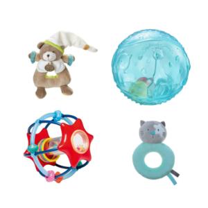 Louer des balles sensorielles et hochets pour bébé