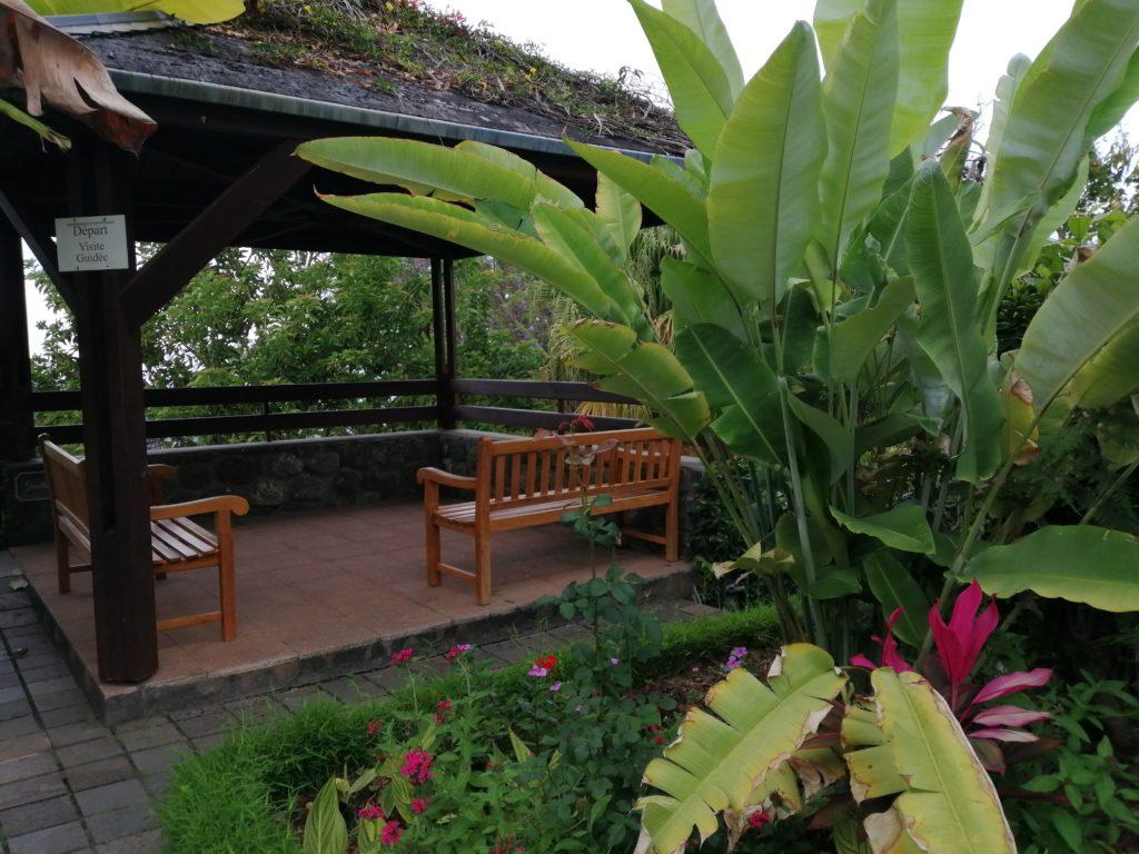 Jardin Mascarin sur l'ile de la Réunion