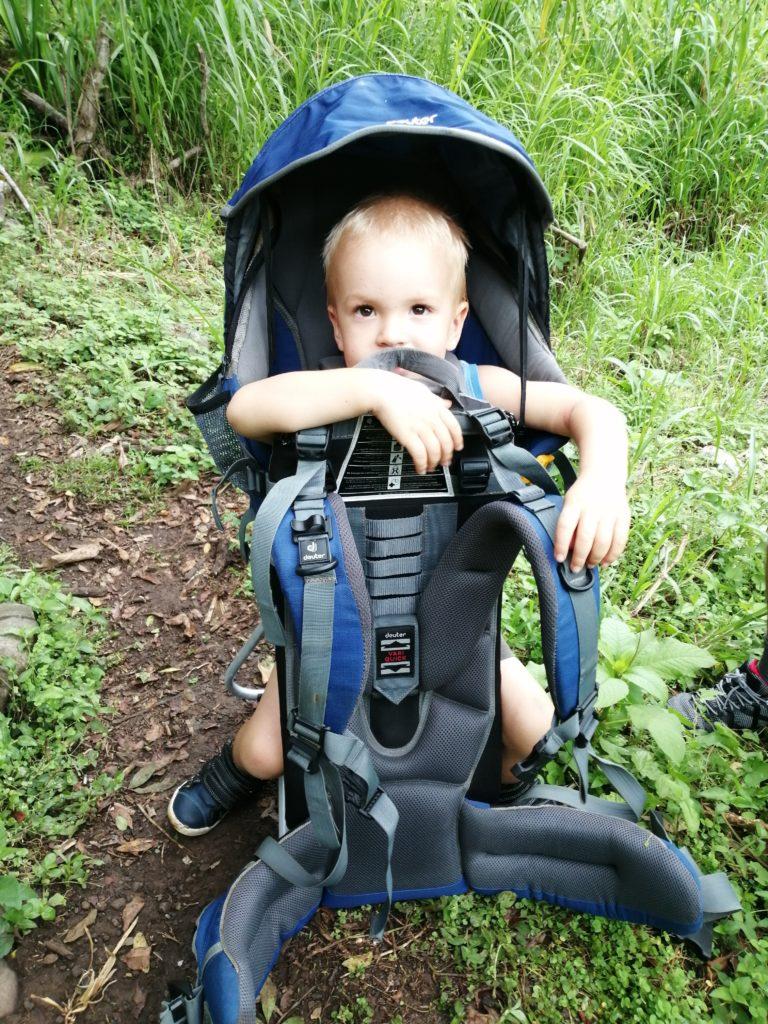Porte bébé randonnée Entre Deux
