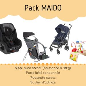Location pack puériculture pour bébé