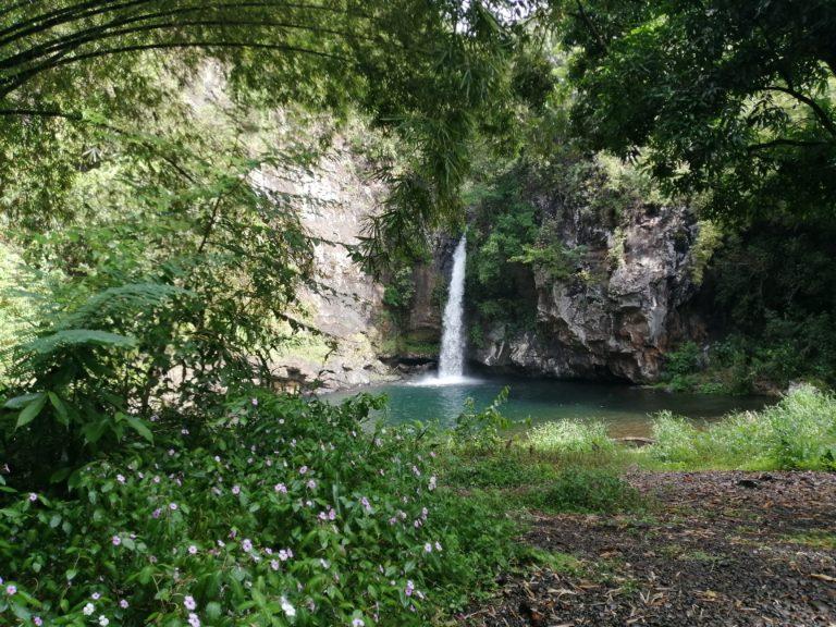 La cascade pichon et son bassin à st andré