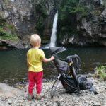 LiloBebe en ballade à la cascade Pichon avec un porte bébé !