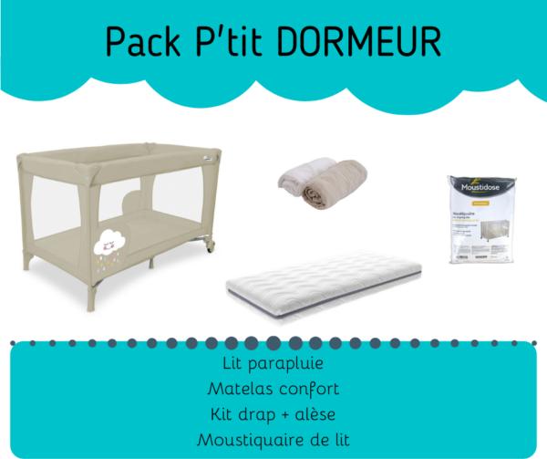 Louer un lit bébé et ses accessoires : matelas et moustiquaire chez Lilo Bébé Réunion